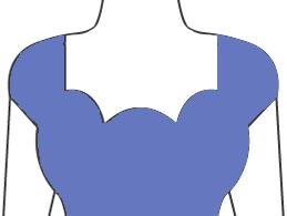 Scalloped-neck