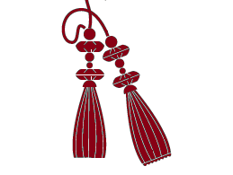 Tassels-with-Neck-Ties/lotkon fitting charge only