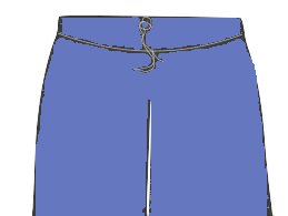 Waist-with-Normal-Strings/dori